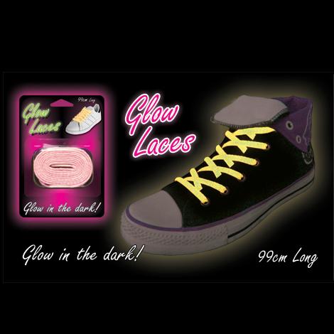 3d16874f10 Svietiace šnúrky do topánok – ružové