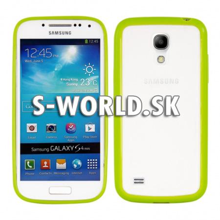 Zadný kryt Samsung Galaxy S4 Mini - Frame - zelená  4469802a43f
