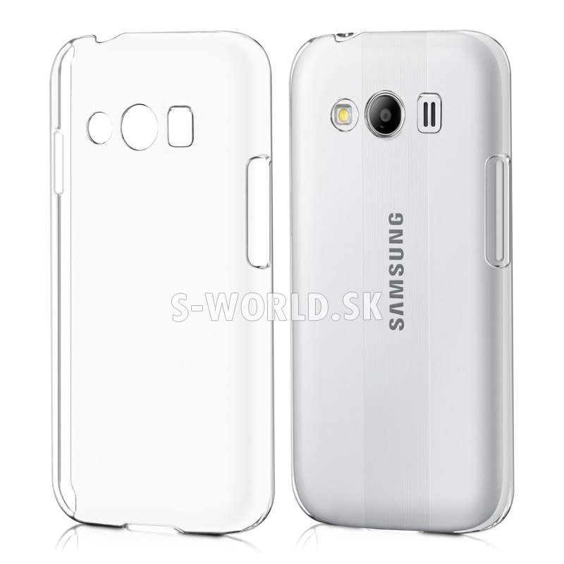 599724ec0 Zadný kryt Samsung Galaxy Ace 4 (G357) - Crystal - priehľadná ...