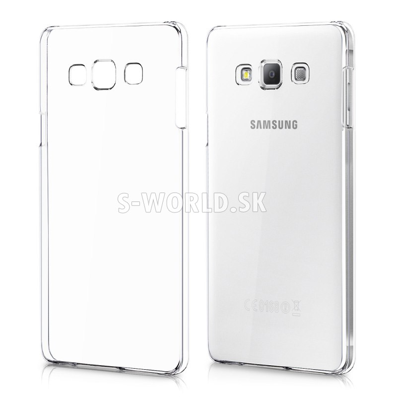 Zadný kryt Samsung Galaxy A7 (A700) - Crystal - priehľadná  8f5eea345b9