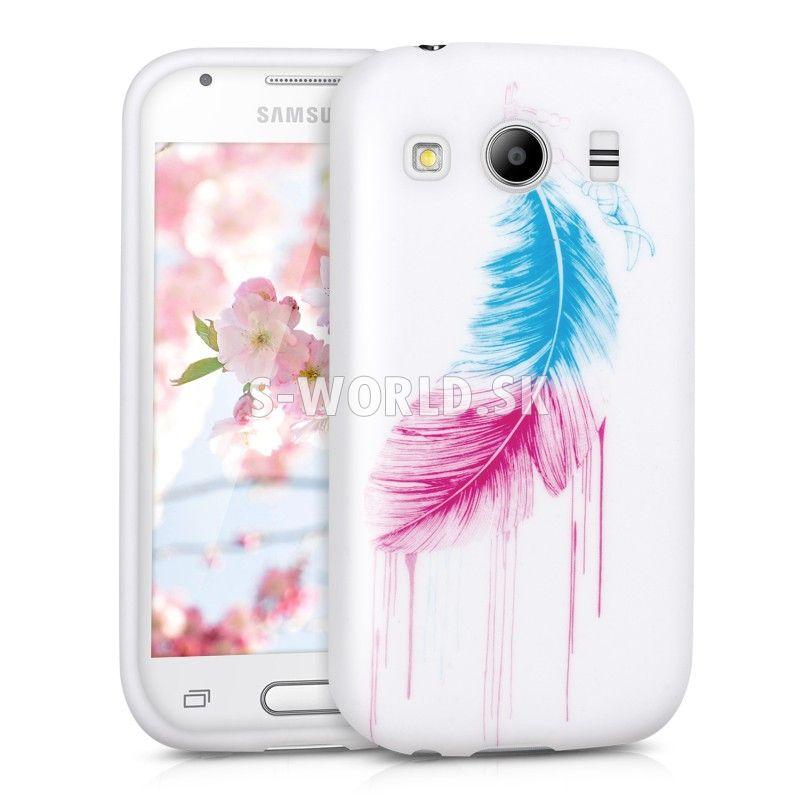 4cf6a8c73 Silikónový obal Samsung Galaxy Ace 4 (G357) - Feather | Silikónové ...