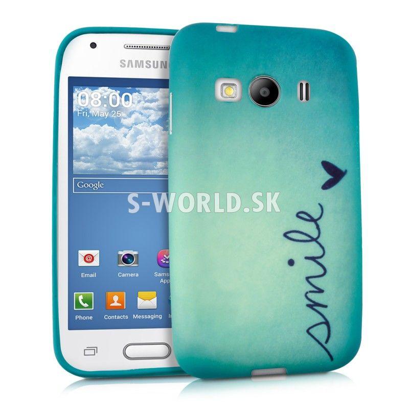90d761698 Silikónový obal Samsung Galaxy Ace 4 (G357) - Smile | Silikónové ...