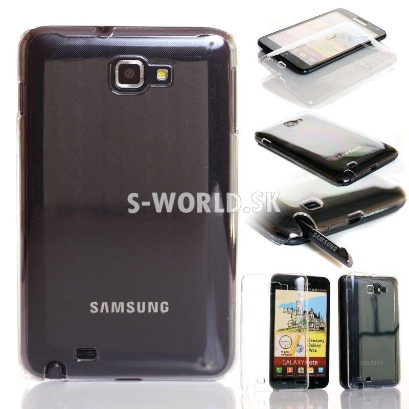Zadný kryt Samsung Galaxy Note - Crystal - priehľadná  f6ac72d39b8