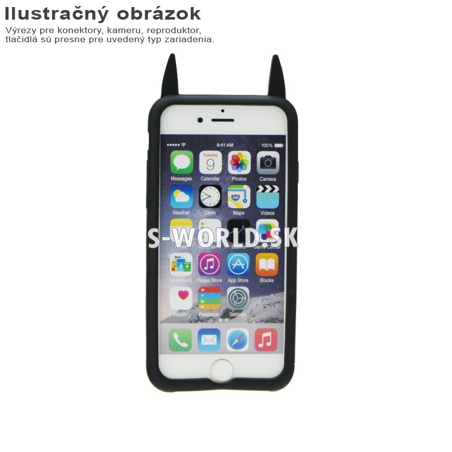 Silikónový obal pre Apple iPhone 4 4S - BAT čierna  943f5f7e9ad