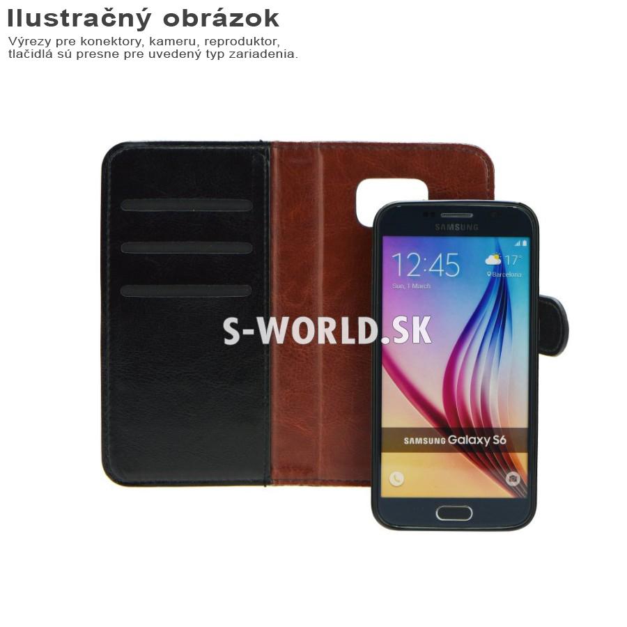 Knižkové puzdro pre iPhone 5 5S - Wallet Twin 2v1 - čierna 9c62c2f68d8