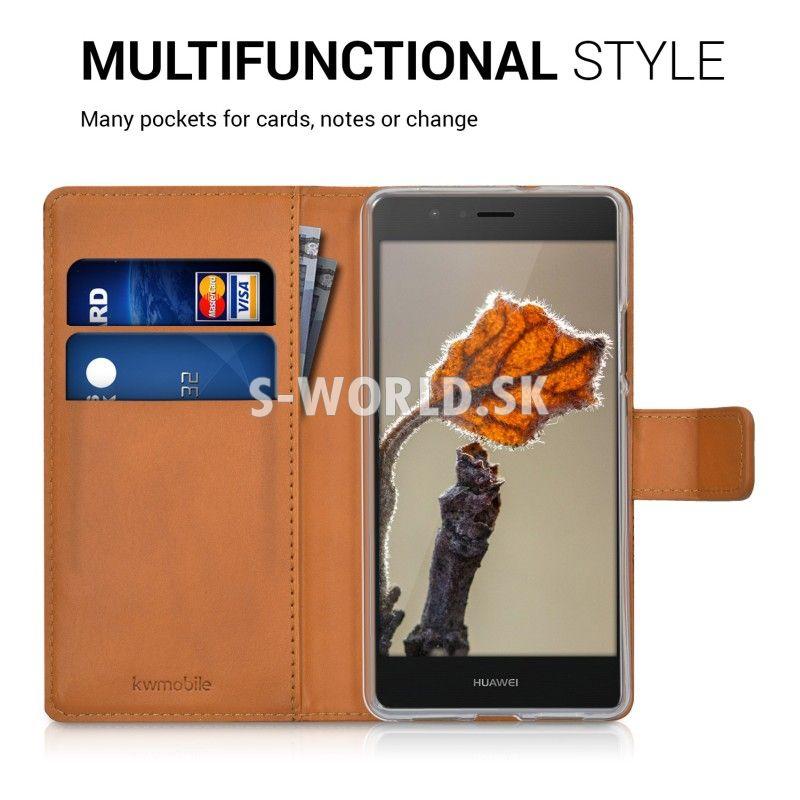 Kožený obal Huawei P9 Lite - Wallet Indy Sun Design 7 df818994f79