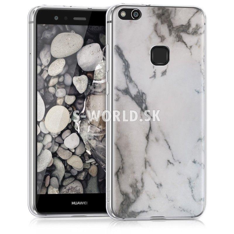 Silikónový obal Huawei P10 Lite - IMD - Mramor biela 560125bb3d0