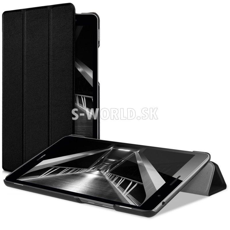 Kožený obal Huawei MediaPad T3 8.0 - Ultra Slim - čierna 6e4f086b1f5