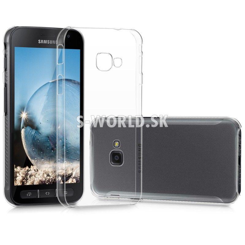 Zadný kryt Samsung Galaxy Xcover 4 (G390) - Crystal - priehľadná ... 108ddfb5804