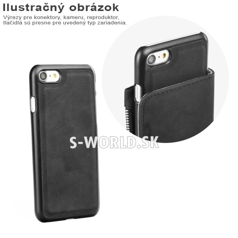Peňaženkové puzdro Commodore pre Samsung Galaxy S7 – 2v1 – čierna 962c59faa55