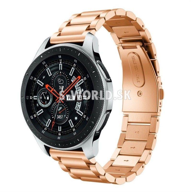 9a5a31514f Kovový remienok Samsung Galaxy Watch 42mm - Clasp - zlato-ružová ...
