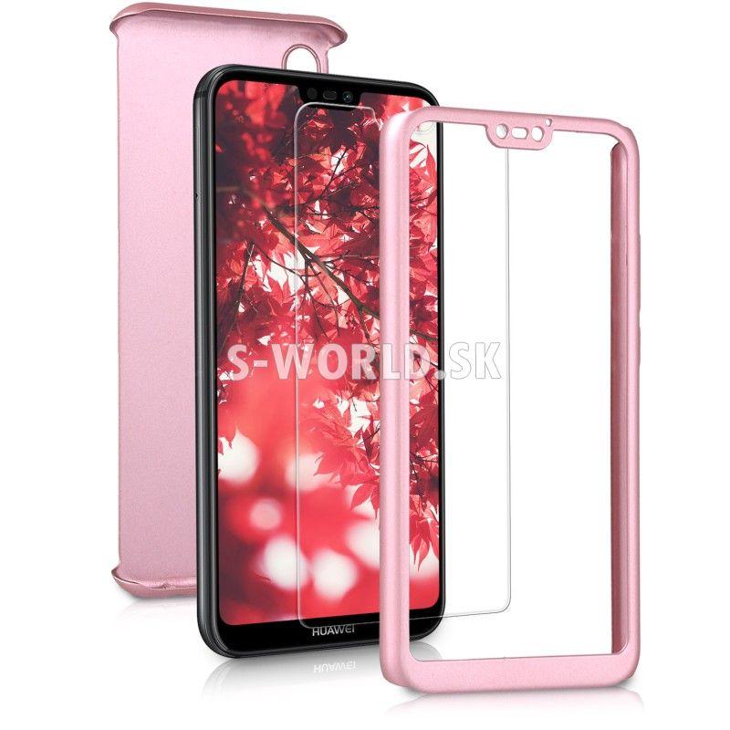 Zadný kryt Huawei P20 Lite - Full Body Metallic - zlato-ružová ... 7b526f093f6