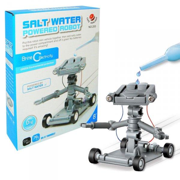 Vodný robot s pohonom na soľ