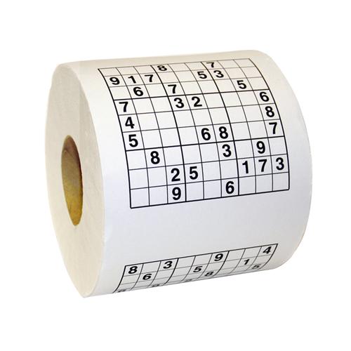 Toaletný papier - Sudoku