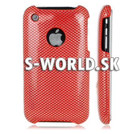 Diamond - zadný kryt iPhone 3G 3GS - červená  f1b348341db